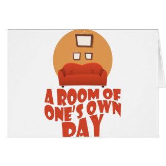 Tarjeta Un cuarto de lo suyo día - día del aprecio