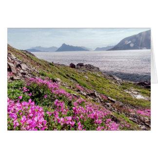 Tarjeta Un día soleado en Columbia Británica, Canadá