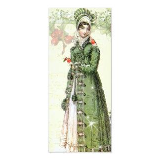 Tarjeta Un Noel feliz Jane Austen inspiró el menú