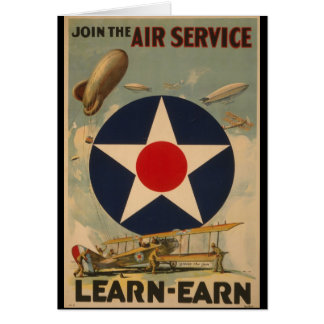 Tarjeta Únase al servicio aéreo