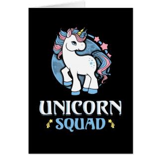 Tarjeta Unicornio comando
