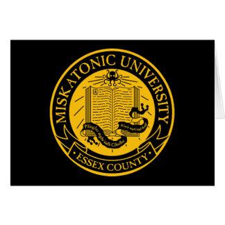 Tarjeta Universidad de Miskatonic