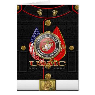 Tarjeta USMC Semper Fi [edición especial] [3D]