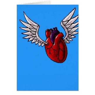 Tarjeta Usted hace que mi corazón se eleva