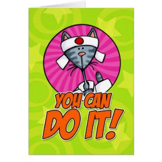 Tarjeta ¡Usted puede hacerlo!