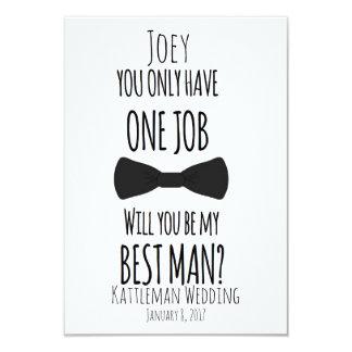 Tarjeta ¿Usted tiene solamente un trabajo usted será mi