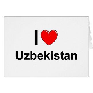 Tarjeta Uzbekistán