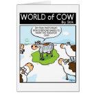 Tarjeta Vaca del radiador
