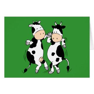 Tarjeta Vacas del baile (mooviestars)