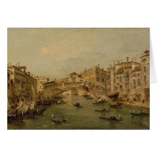 Tarjeta Venecia el Rialto