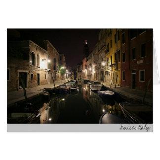 Tarjeta Venecia, Italia