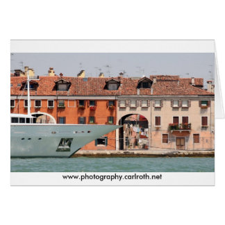 Tarjeta Venecia - lujo y lavadero