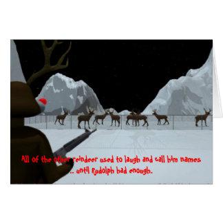 Tarjeta Venganza del navidad s