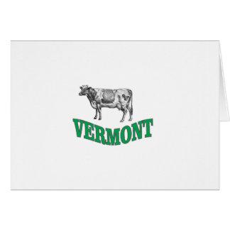 Tarjeta Vermont verde