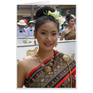 Tarjeta Vestido tradicional