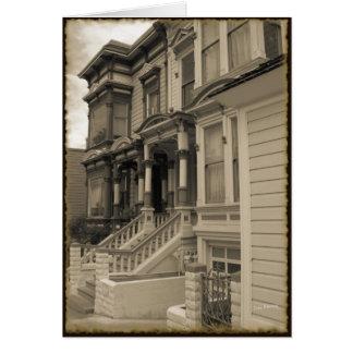 Tarjeta Victorians en la sepia #2