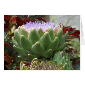 Tarjeta Vida de la alcachofa