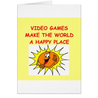 Tarjeta videojuegos