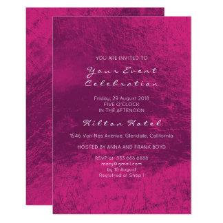 Tarjeta Vidrio color de rosa de color rosa oscuro púrpura