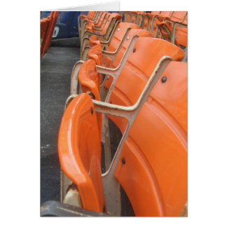 Tarjeta Viejos asientos del Shea Stadium
