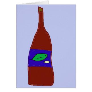 Tarjeta Vino
