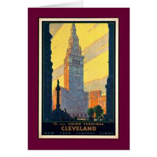 Tarjeta Vintage Cleveland