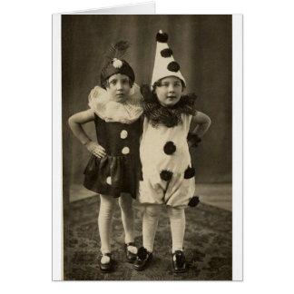 Tarjeta Vintage Halloween - únase a en mi Weirdness,