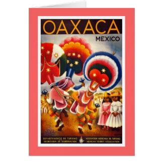 Tarjeta Vintage Oaxaca México