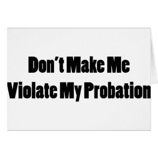 Tarjeta Viole mi libertad condicional
