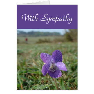 Tarjeta violeta