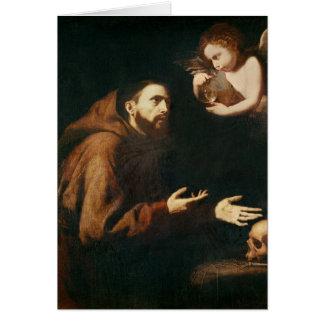 Tarjeta Vision de St Francis de Assisi