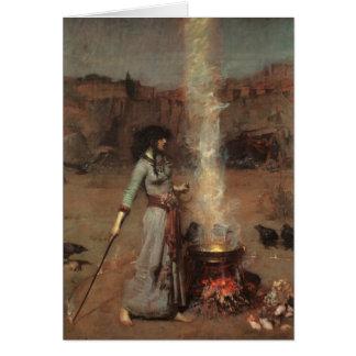 """Tarjeta Waterhouse del """"círculo mágico"""""""
