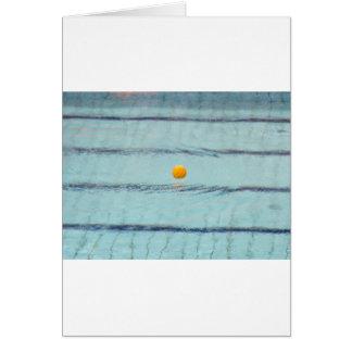 Tarjeta Waterpolo