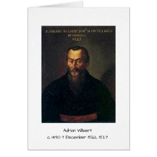 Tarjeta Willaert de Adrian