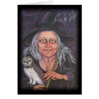 Tarjeta Witch&Owl