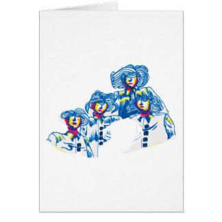 Tarjeta wondercrowd-tentáculos