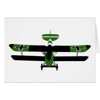 Tarjeta WWI 001 - Albatros DV