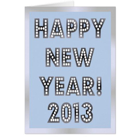 Tarjetas 2013 de felicitación de la Feliz Año