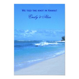 Tarjetas azules de la invitación de la boda del
