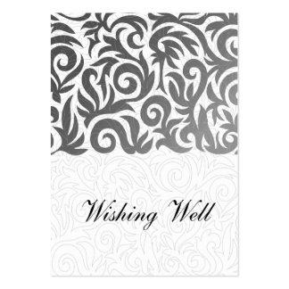tarjetas bien que desean negras plantillas de tarjetas de visita
