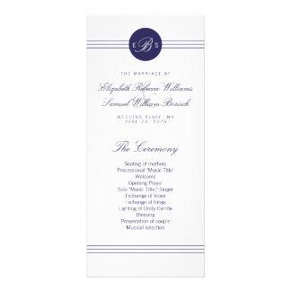Tarjetas blancas del estante del programa del tarjetas publicitarias personalizadas