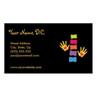 Tarjetas caprichosas de la cita de la tarjetas de visita
