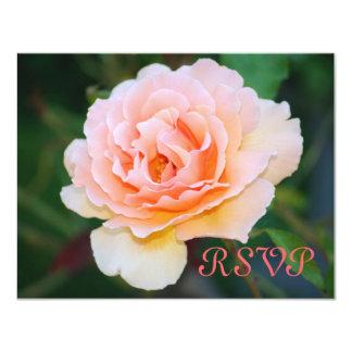 Tarjetas color de rosa perfectas de RSVP de la Invitación 10,8 X 13,9 Cm