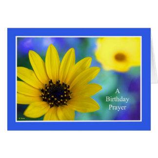 Tarjetas de cumpleaños cristianas -- Un rezo del
