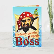 Cumpleaños para jefes