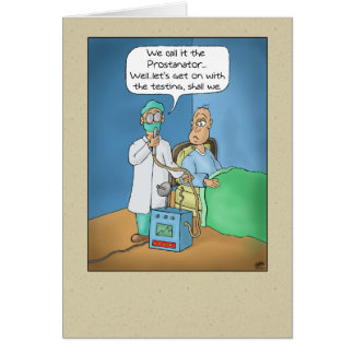 Tarjetas de cumpleaños divertidas: El Prostanator