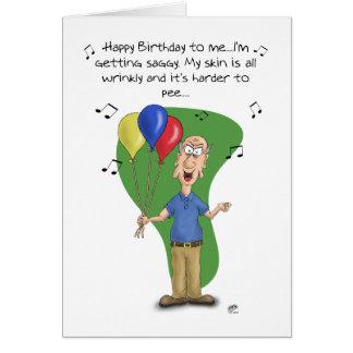 Tarjetas de cumpleaños divertidas Melodía del cum