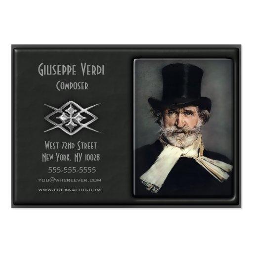 Tarjetas de encargo de lujo contemporáneas del per tarjeta personal