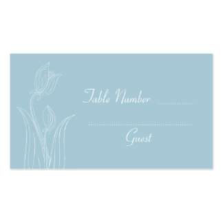 Tarjetas de encargo del lugar de la tabla del boda tarjetas de visita