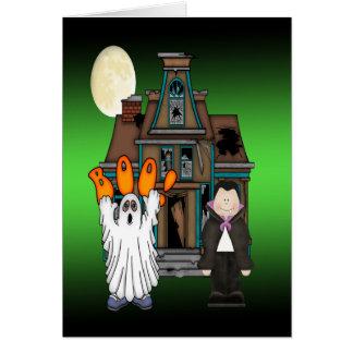 Tarjetas de felicitación de Drácula Halloween del
